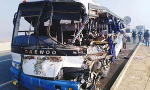 At least 10 dead, several injured in traffic accident near Nawabshah