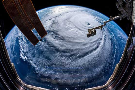 In Pictures: Hurricane Florence is moving towards land with stormy winds and heavy rains