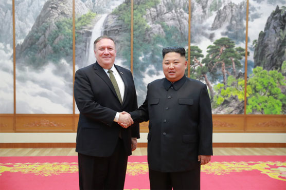 Pompeo says Kim 'ready' to invite inspectors to nuclear site